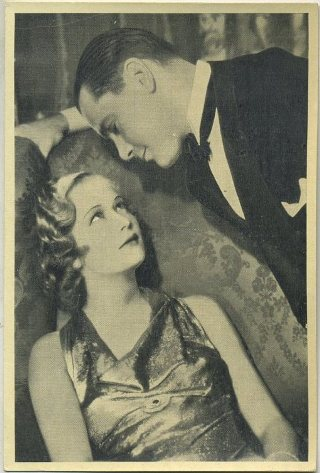 Miriam Hopkins and Herbert Marshall 1940 A and M Wix Cinema Cavalcade