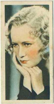 Miriam Hopkins 1934 Godfrey Phillips Film Stars