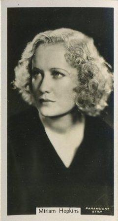 Miriam Hopkins 1934 John Sinclair