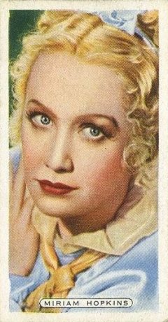 Miriam Hopkins 1935 Ardath Film Stage and Radio Stars