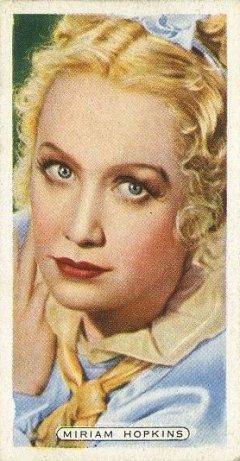Miriam Hopkins 1935 Ardath Film Stage and Radio Stars