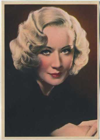 Miriam Hopkins 1936 Nestle Stars of the Silver Screen