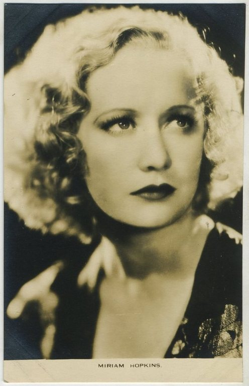 Miriam Hopkins 1930s Film Weekly Postcard