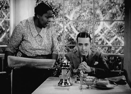 Louise Beavers and George Raft