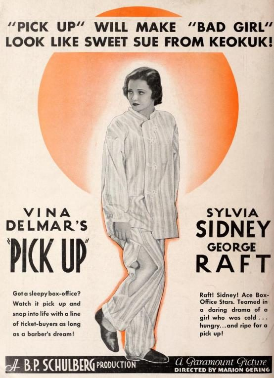 Pick Up 1933 trade advertisement