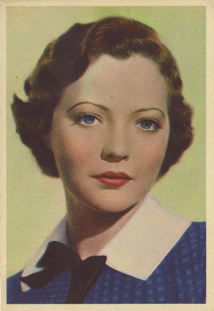 Sylvia Sidney 1936 Godfrey Phillips postcard