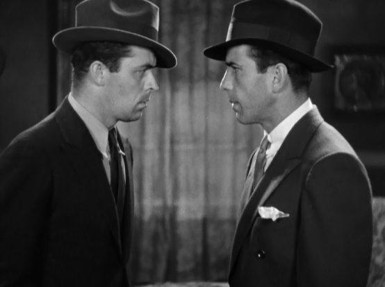 Lyle Talbot and Humphrey Bogart