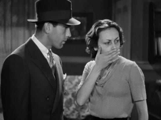 Humphrey Bogart and Ann Dvorak