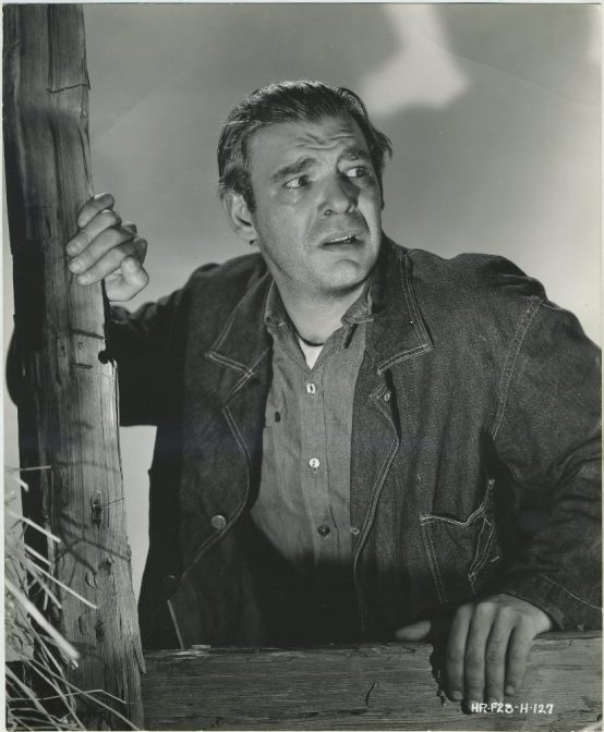 Lon Chaney Jr in Of Mice and Men