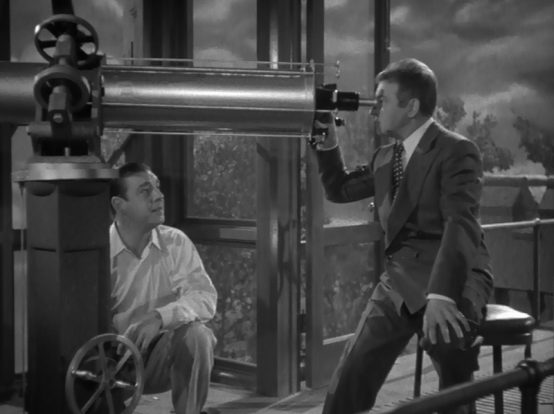 Lon Chaney and Claude Rains