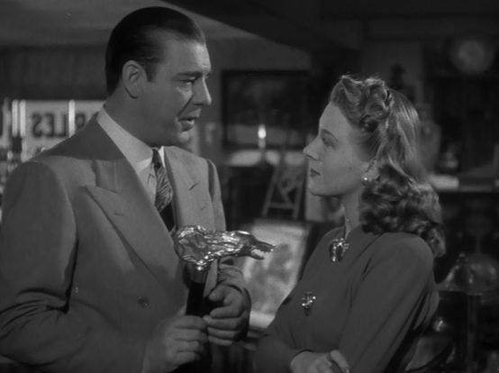 Lon Chaney and Evelyn Ankers