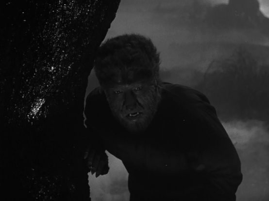 Lon Chaney in The Wolf Man