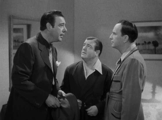 Lon Chaney with Abbott and Costello