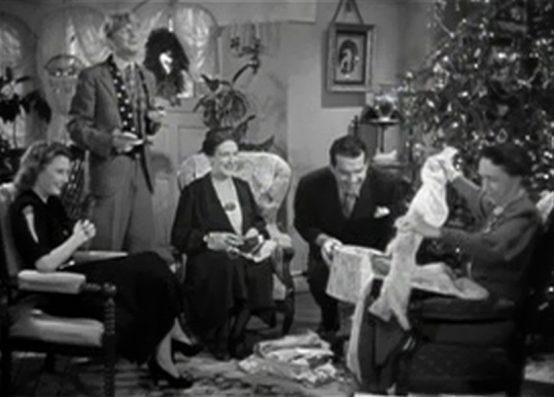 Remember the Night Christmas Scene