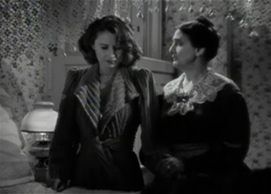 Barbara Stanwyck and Beulah Bondi