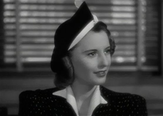 Barbara Stanwyck in Remember the Night