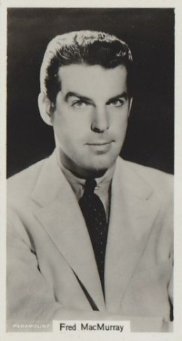 Fred MacMurray 1939 RJ Lea Card