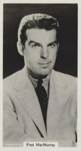 Fred MacMurray 1939 RJ Lea Card