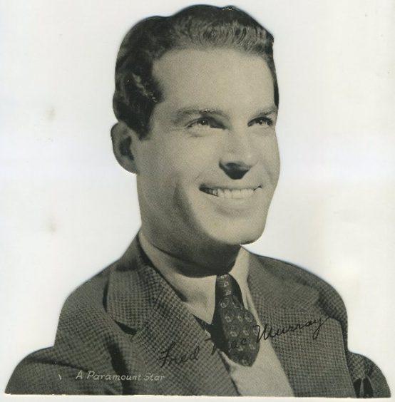 Fred MacMurray 1930s Quaker Oats Standee
