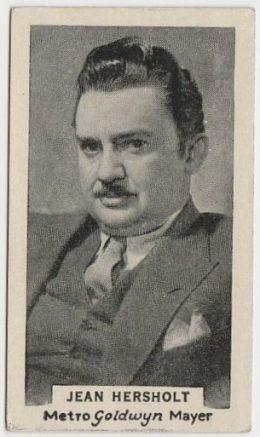 Jean Hersholt 1934 Godfrey Phillips Australia Film Stars