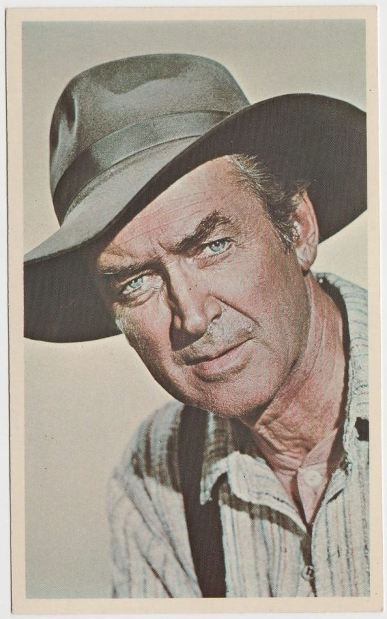 James Stewart in Shenandoah on Universal Promo Card