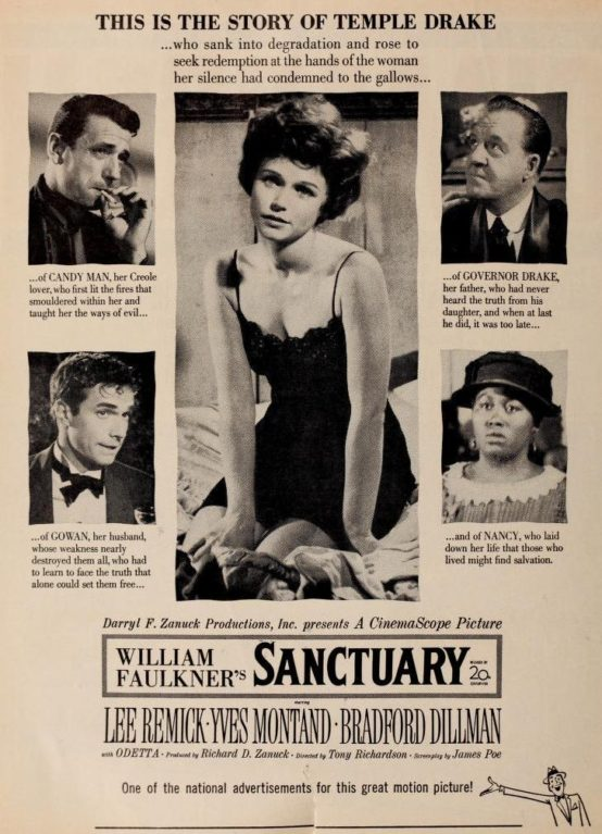 Sanctuary 1961 trade advertisement