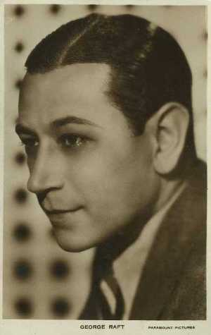 George Raft Postcard