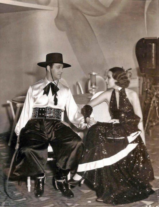 Ricardo Cortez and Dolores Del Rio