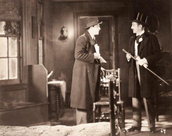 Ricardo Cortez and Adolphe Menjou