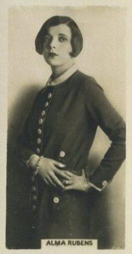 Alma Rubens 1925 Rothmans