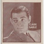 Clark Gable 1933 General Gum