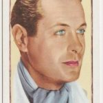 Robert Montgomery Gallaher Movie Card