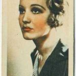 Constance Cummings trading card