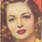 Martha Vickers trading card