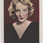 Marlene Dietrich Trading Card