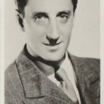 Basil Rathbone trading card