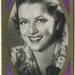 Betty Furness trading card