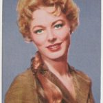 Eleanor Parker trading card