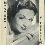 Gail Patrick game card