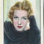 Gertrude Michael trading card