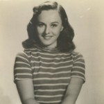 Paulette Goddard real photo card