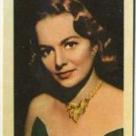 Olivia de Havilland trading card