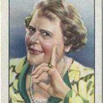 Marie Dressler trading card