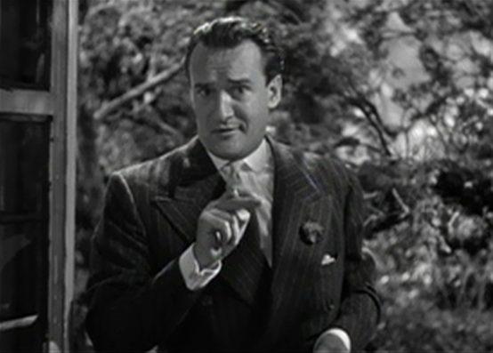 George Sanders in Rebecca 1940