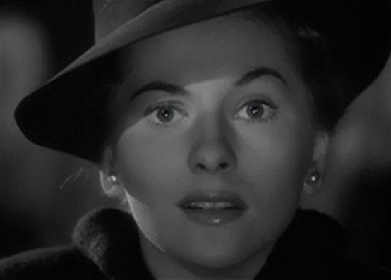 Joan Fontaine in Rebecca 1940